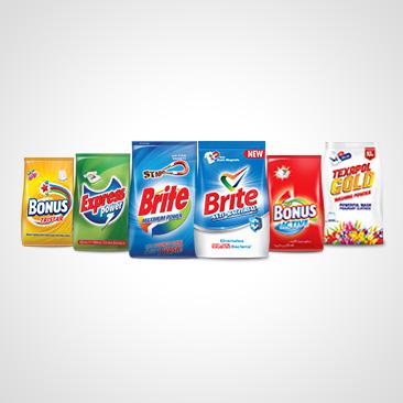 Laundry Detergent Powder & Bar